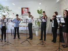 Vievio ir Rudaminos meno mokyklos smuikininkai 1