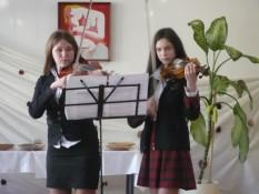 Vievio ir Rudaminos meno mokyklos smuikininkai 2