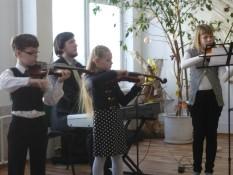Vievio ir Rudaminos meno mokyklos smuikininkai 3